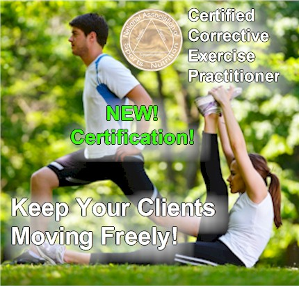 NEW! NASN CERTIFIED CORRECTIVE EXERCISE PRACTITIONER