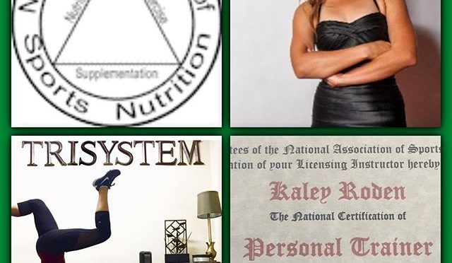 Congratulations to Kaley for successfully completing her NASN Personal Trainer Certificate and TriSystem Internship! Who's next? 🏋🏻🏼‍♀️